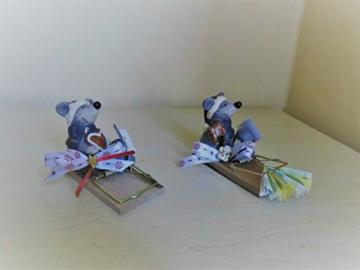 Achtung Mäuse - Geldgeschenk zu Weihnachten Mausefalle -