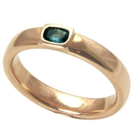 Alexandrit Ring 0,20 ct. (Rosegold 585) Alexandritring mit Farbwechsel -