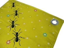 Ameisen, Topflappen, Baumwolle, handgenäht und mit Handsiebdruck, 1 Stk. -