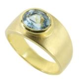 Aquamarin Ring 1,84 ct. (Gelbgold 585) Aquamarinring -