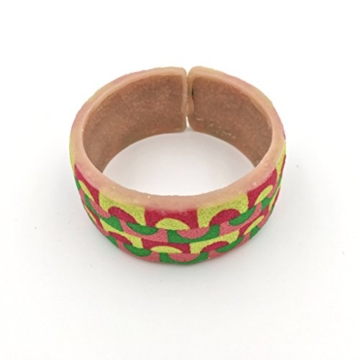 Armband + Ring in Polymer Clay -