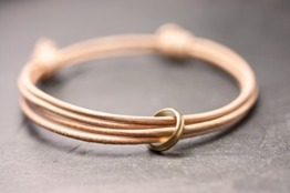 Armband Ring nude -