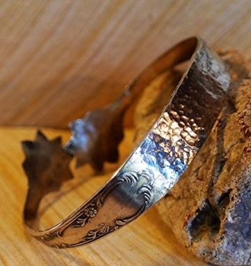 Armreif/ Armspange versilbert (Silber 100) -
