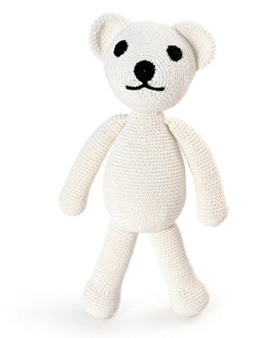 Bear. Gehäkeltes Kinderspielzeug -