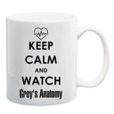 Bedruckte Tasse mit Motiv Grey's Anatomy Motivtasse Kaffeebecher Kaffeetasse -