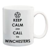 Bedruckte Tasse mit Motiv Keep Calm Supernatural Motivtasse Kaffeebecher Kaffeetasse -