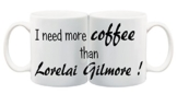 Bedruckte Tasse mit Motiv Lorelai Gilmore Gilmore Girls Motivtasse Kaffeebecher Kaffeetasse -