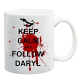 Bedruckte Tasse mit Motiv The Walking Dead Daryl Dixon Motivtasse Kaffeebecher Kaffeetasse -
