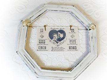 Bild 'Liebesgrüße in Briefmarkensprache' shabby -
