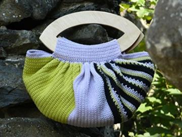 ᐅᐅ Boho Häkeln Tasche Böhmische Handtasche Baumwolle Gehäkelte