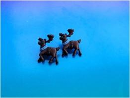 ☆ Rentier ☆ ausgefallene Ohrstecker ☆ Weihnachtsohrstecker Weihnachtsohrringe -
