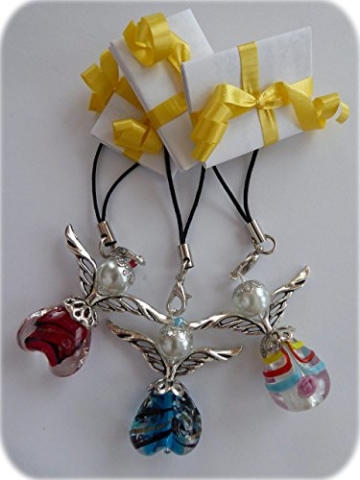ENGEL POST Perlen-Engel mit Botschaft 3er Set Handmade in Germany -