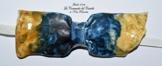 Fliege Keramik Antiquae Linie Italien Piece Unique Hergestellt und von Hand bemalt Le Ceramiche del Castello Made in Italy Maße: 10 x 5 cm. -