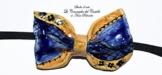 Fliege Keramik Antiquae Linie Piece Unique Hergestellt und von Hand bemalt Le Ceramiche del Castello Made in Italy Maße: 10 x 5 cm. -