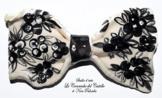 Fliege Keramik Antiquae Linie Piece Unique Hergestellt und von Hand bemalt Le Ceramiche del Castello Made in Italy Maße: 9 x 5 cm -