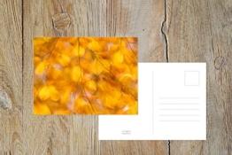 "Fotografie Postkarte ""Gold"" -"