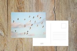"""Fotografie Postkarte """"Gute Reise"""" -"""
