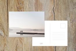 "Fotografie Postkarte ""Seeblick"" -"