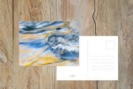 "Fotografie Postkarte ""Wellentanz"" -"