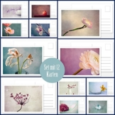 Fotokunst Postkarten Set Silent Moments 2017 -