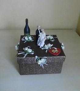 Geldgeschenk Geschenkbox Eiserne Hochzeit -