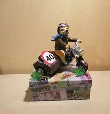 ᐅᐅ Geldgeschenk Z Geburtstag Motorrad Seitenwagen