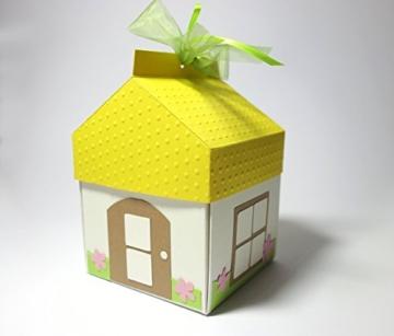 Geschenkbox haus mit quietscheente schornsteinfeger geldgeschenk geschenkverpackung zum - Geldgeschenk wohnung ...