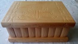 Gigant riesig, groß,Natur lackiert Holz Puzzle spiel kasten box, geheimer Kasten, magischer Zauber Kasten, schöner ganz spezieller geschnitzter hölzerner Schmuckschatulle Aufbewahrungsbehälter -