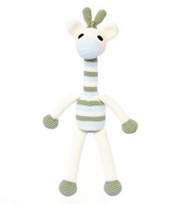 Giraffe Boy. Gehäkeltes Kinderspielzeug -