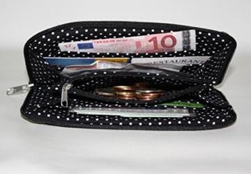 große Geldbörse | Portemonnaie | Brieftasche | Geldbeutel | Clutch | umlaufender Reißverschluß | Handarbeit | Unikat | Asien -