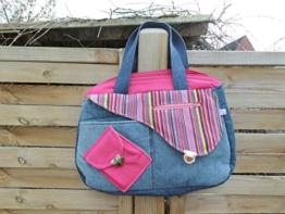 große Handtasche -