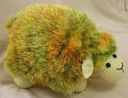 Handgefertigt weichem Süße Schaf Form Kissen kissenpolster Sofa Spielzeug Wohnkultur Sofa Deko Baby Kinder Geschenk Spielzeug (gemischte Farben) -