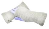 Handstulpen schlamm - Wollstulpen - Hand gestrickt - warm und weich -