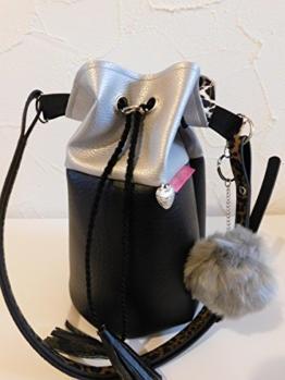 Handtasche, Beuteltasche, Bucket Bag -