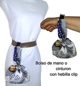 Handtasche, oder hängen am Gürtel. NEW YORK. Für die mobile, Schlüssel, Geldbörse, Taschentücher, etc. ideal zum Wandern, Tanzen. Einzigartig und exklusiv. -