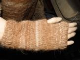 Handwärmer aus 100 % Lamawolle -