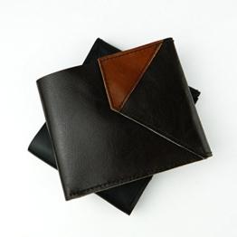 Herren Portemonnaie, Geldbörse aus Leder -