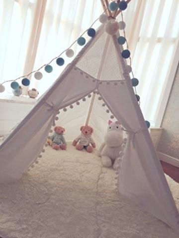 Kinder Tipi Zelt mit 5 Stangen, Spielzelt, Kinder Tipi, Kleinkinder Tipi,  Tipi Zelt, Tipi, Spielhaus, Kinderzimmer Dekor, Wigwam