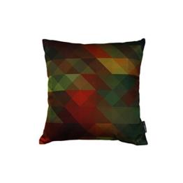 Kissen - Sonate 3 - geometrisches Muster - 40 x 40 cm -