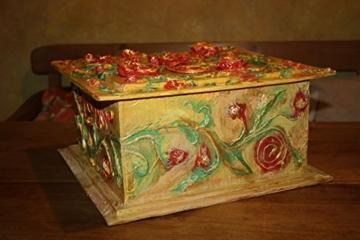 Kiste aus Pappmache, 38/36/19cm -