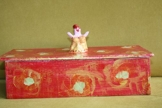 Kiste, Schachtel, Schatulle, 36/15/10cm -