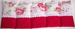 Körnerkissen Dinkelkissen mit Option Namen bestickt Wärmekissen Motiv Rosen rot ca.50x20cm 100% Baumwolle -
