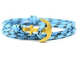 "KOMIMAR Anker Armband ""86 - Surferarmband - Wickelarmband - Geschenkidee - Ankerarmband - Strandschmuck - Schmuck - Armreif - Herrenschmuck - Damenschmuck - -"