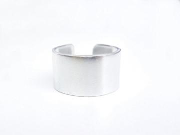 Kupferring 13mm breit glänzend -