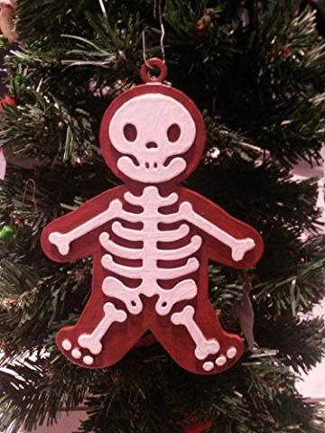Lebkuchen-Röntgen Mann (Weihnachtsbaum-Schmuck / Weihnachten / Deko) -