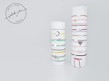 LILLI - zartes layering Armband (925 Sterling Silber & Nylon) -