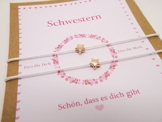 Love ♥ Schwestern-Armband Set ♥ -
