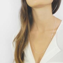 MARIE - kurze layering Halskette aus 925 Sterlingsilber -