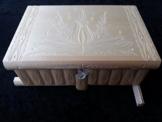 Neu natur lackier Holz Prämie Gigant riesig groß Puzzle spiel kasten box geheimn Kasten, magisch Zauber Kasten, schön ganz speziell geschnitzt Holz Schmuckschatulle Schmuck Aufbewahrungs Geschenk frauen -