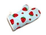 Ofenhandschuh Backhandschuh kawaii Erdbeeren -